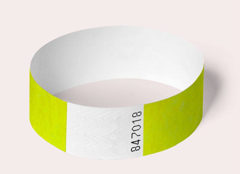 wristband-round-neon-yellow