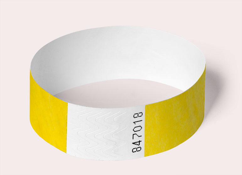 wristband-round-yellow